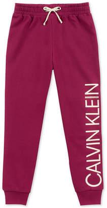 Calvin Klein Big Girls Logo Sweatpants