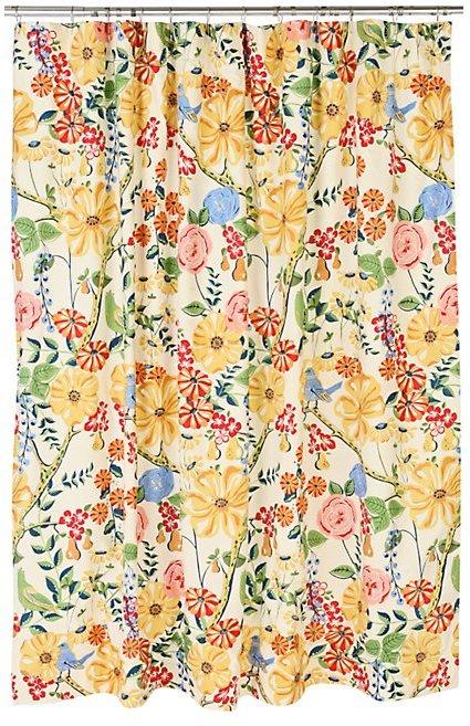 Weekend Bouquet Shower Curtain