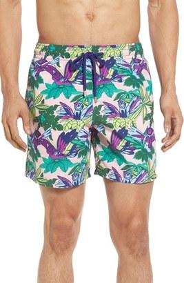 Men's Vilebrequin 'Moorea - Forest Paradise' Swim Trunks $250 thestylecure.com