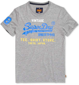 Superdry Men's Shirt Shop Tri Graphic T-Shirt