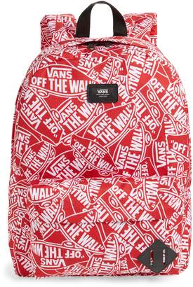 5caf868e6cc8 Vans Old Skool II Off the Wall Water Repellent Backpack