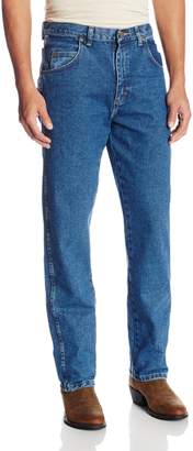 Wrangler Men's Tall Rugged Wear Relaxed Fit Jean