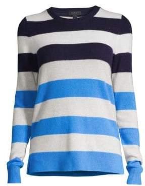 Saks Fifth Avenue COLLECTION Multi-Stripe Cashmere Sweater