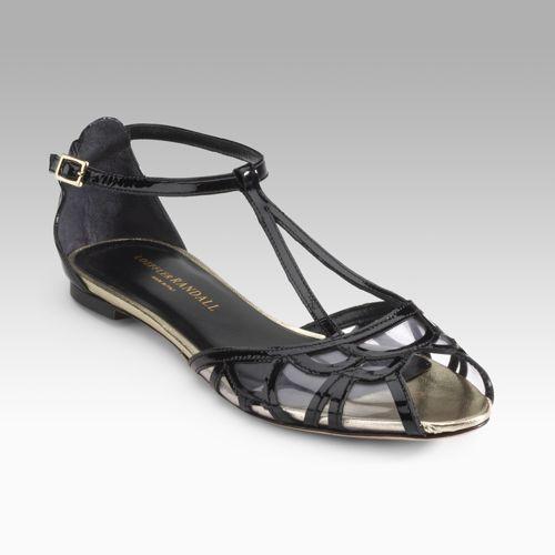 Loeffler Randall Imogene Cut-Out Sandals