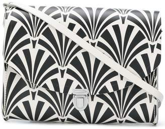 The Cambridge Satchel Company Large Push Lock Deco print satchel