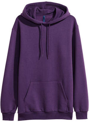 H&M Hooded Sweatshirt - Purple