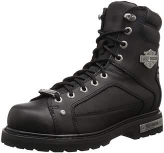 Harley-Davidson Men's Abercorn Boots, Leather, Rubber, 11 W