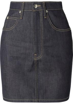 EVE Denim - Tallulah Denim Mini Skirt - Dark denim