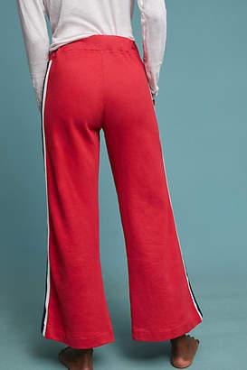 Sundry Striped Flare Sweatpants