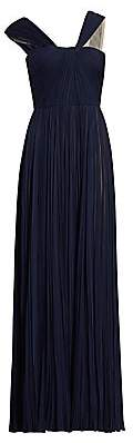 J. Mendel Women's Asymmetric Pleated Silk Gown