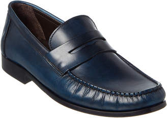 Bruno Magli M By Pecan Leather Loafer