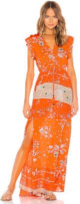 Maaji Cinched Maxi Dress