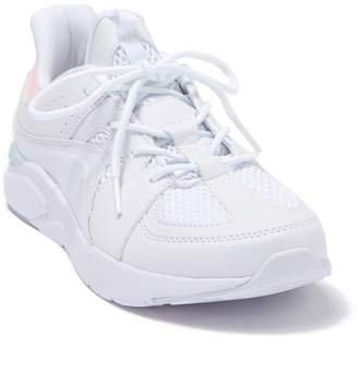 LDS Fabletics Active White Chunky Lace-Up Sneaker