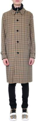 Burberry Cotton Trench Print Check Archive 1920s