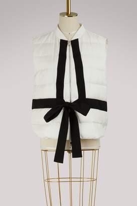 Moncler Pas de Deux silk vest