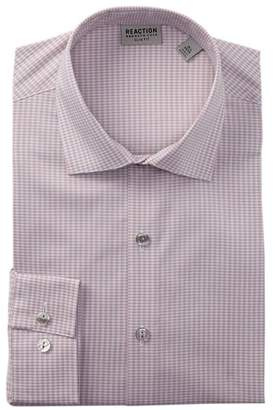 Kenneth Cole Reaction Slim Fit Broadcloth Dress Shirt