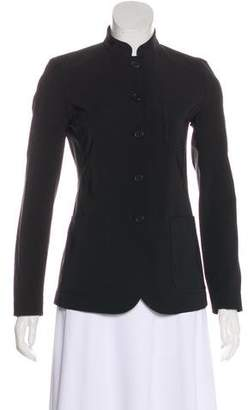 Prada Mandarin Collar Long Sleeve Jacket