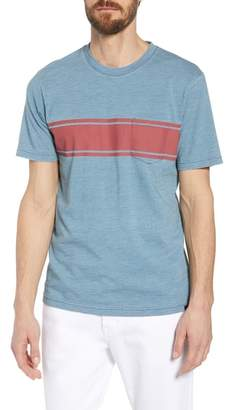 Faherty Surf Stripe Pocket T-Shirt