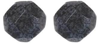 Soko Faceted Grey Ball Studded Earrings