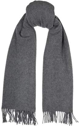 Privee Salle Wool-Cashmere Fringed Scarf
