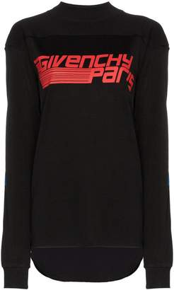Givenchy paris logo print sweatshirt