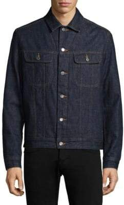 A.P.C. Blouson Flynn Denim Jacket