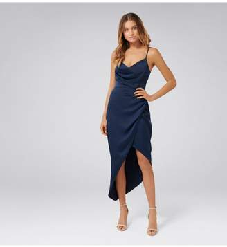 Ever New Kahlia Asymmetric Cowl Neck Dress