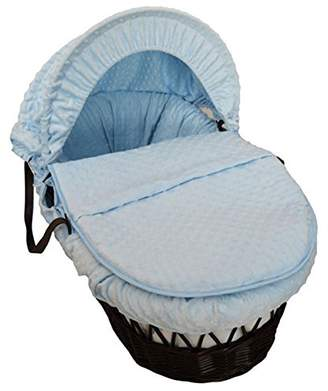 Cuddles Collection Dimple On Moses Basket (Blue)