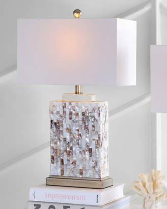Safavieh Tory Capiz Shell Rectangular Table Lamps, Set of 2