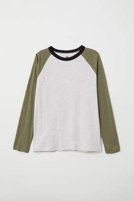 H&M Long-sleeved T-shirt - Green