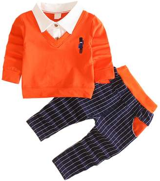 DIIMUU Toddler Infant Boy Party Clothing Suits Outfits Sets