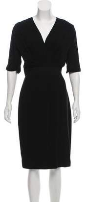 Giambattista Valli Short Sleeve Midi Dress w/ Tags