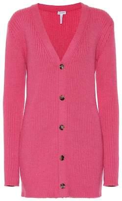 Loewe Ribbed wool cardigan