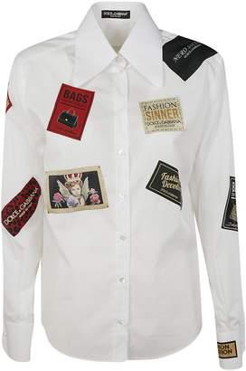 Dolce & Gabbana Logo Patch Shirt