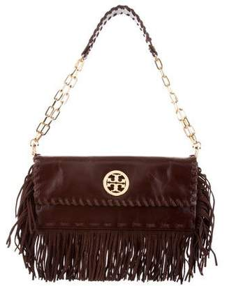 Tory Burch Leather Fringe Shoulder Bag