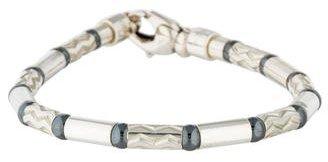 Tiffany & Co. Hematite Bead Bracelet $145 thestylecure.com