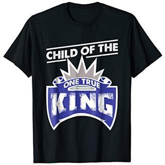 The One I am a Child of True King Proud Dad Jesus Men Shirt