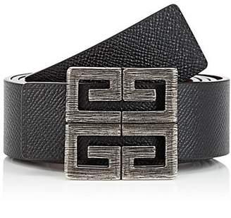 Givenchy Men's 4G Reversible Leather Belt - Black