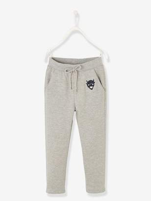 Vertbaudet Straight Cut Trousers with Lining for Boys