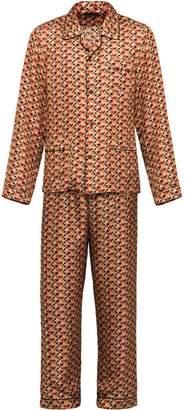 Prada Silk Twill Pajama