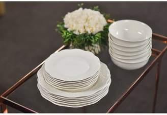Red Vanilla Country Villa 18 Piece Dinnerware Set, Service For 6