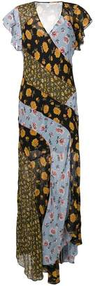 Veronica Beard floral long dress