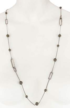 Alexis Bittar Essentials Long Station Necklace