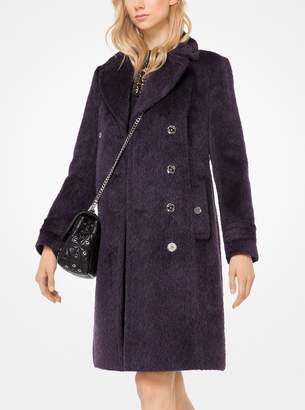 MICHAEL Michael Kors Mohair Officers Coat