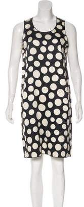 Celine Silk Polka Dot Dress