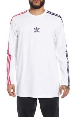 adidas 3-Stripes Long Sleeve T-Shirt