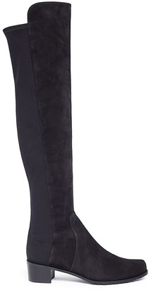 Stuart Weitzman 'Reserve' stretch suede knee high boots