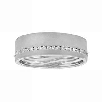Love 360 LOVE 360 14k White Gold 1/4 Carat T.W. Diamond Wedding Ring