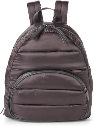 Urban Expressions Charcoal Flyer Laptop Puffer Backpack