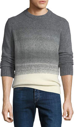 BOSS Men's Ombre-Knit Crewneck Sweater